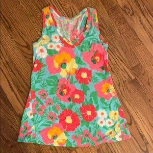 Lilly Pulitzer racer back tank top